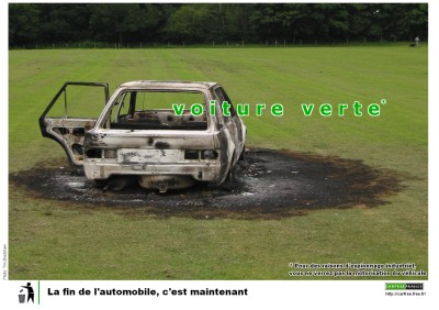 voiture verte