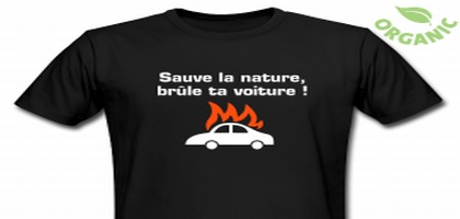 Livraison offerte sur les tee-shirts!