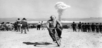 Einstein, le vélo et le nucléaire