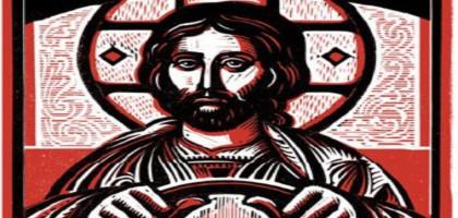 Jésus conduit une voiture