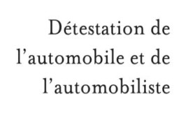 destestation-automobile